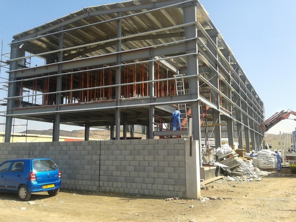 Steel Structure For OCIC | Excellent Steel Oman
