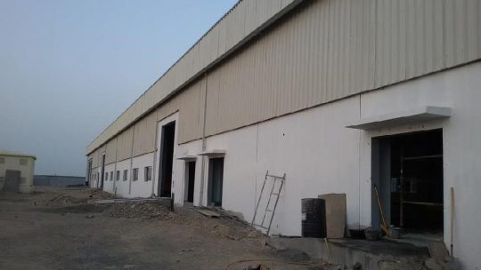 Water Filling Plant at Al-khoudh | Excellent Steel Oman