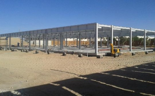 Recreation Building at Qar'naalam PDO |  Excellent Steel Oman