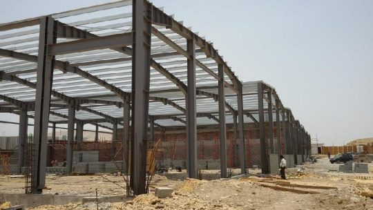 Water Filling Plant at Al-khoudh | Excellent Steel Oman