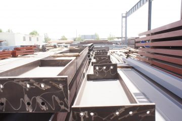 Heavy Steel Structural fabrication