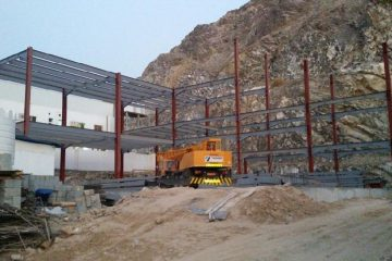 Wadi Kabir Flat Roof Structure | Excellent Steel Oman