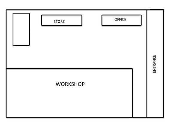 Workshop Floor Plan | Excellent Steel Oman