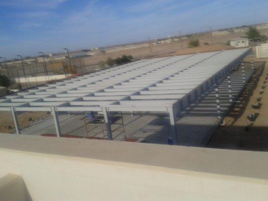PDO garnalam flat roof | Excellent Steel Oman
