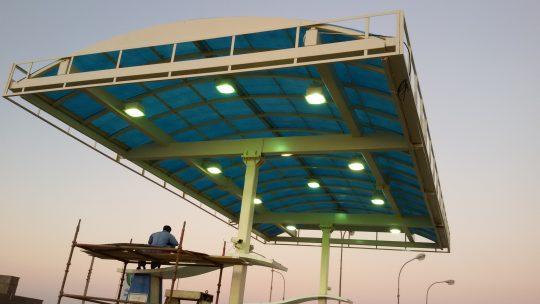 omanoil filling station | Excellent Steel Oman