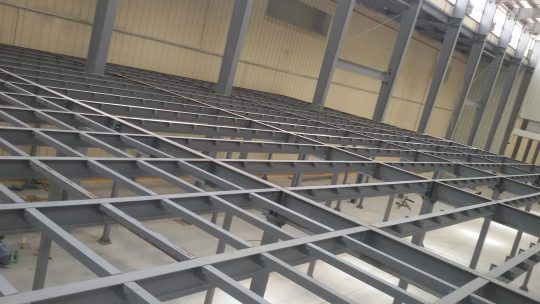 KR Mezzanine at Barka | Excellent Steel Oman