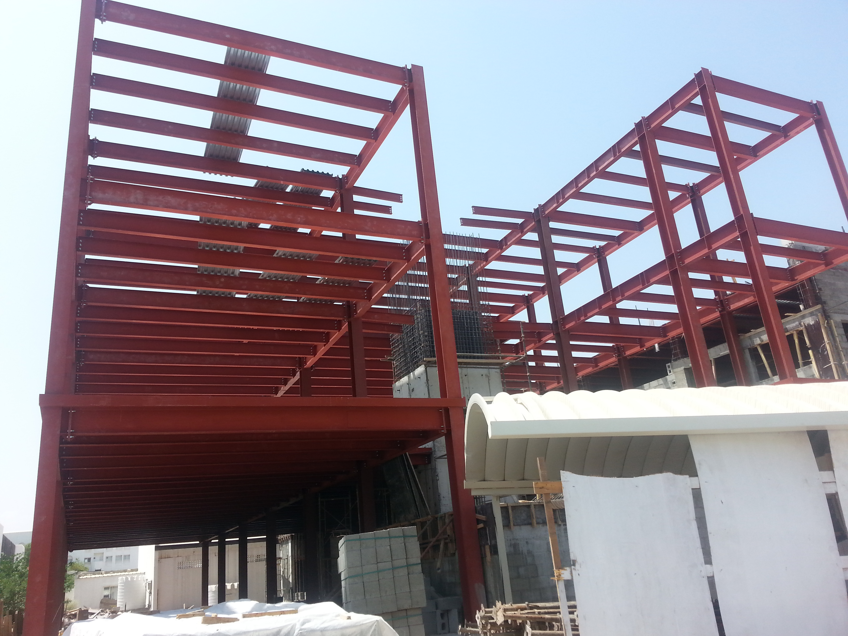 Highr college of technology | Excellent Steel Oman