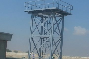 Buraimi water tank tower | Excellent Steel Oman