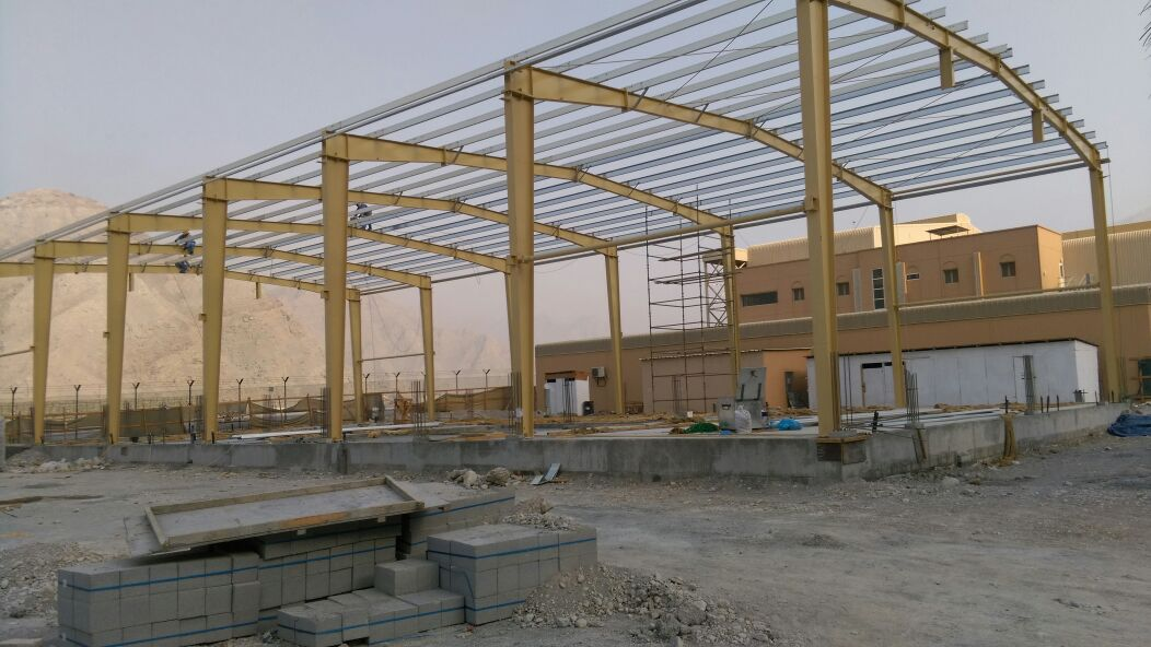 Multipurpose store khasab for MOD | Excellent Steel Oman