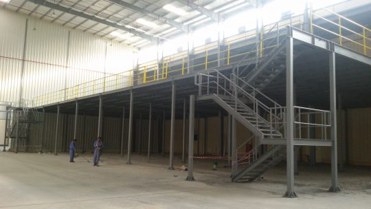 KR Mezzanine at Barka | Excellent Steel Oman
