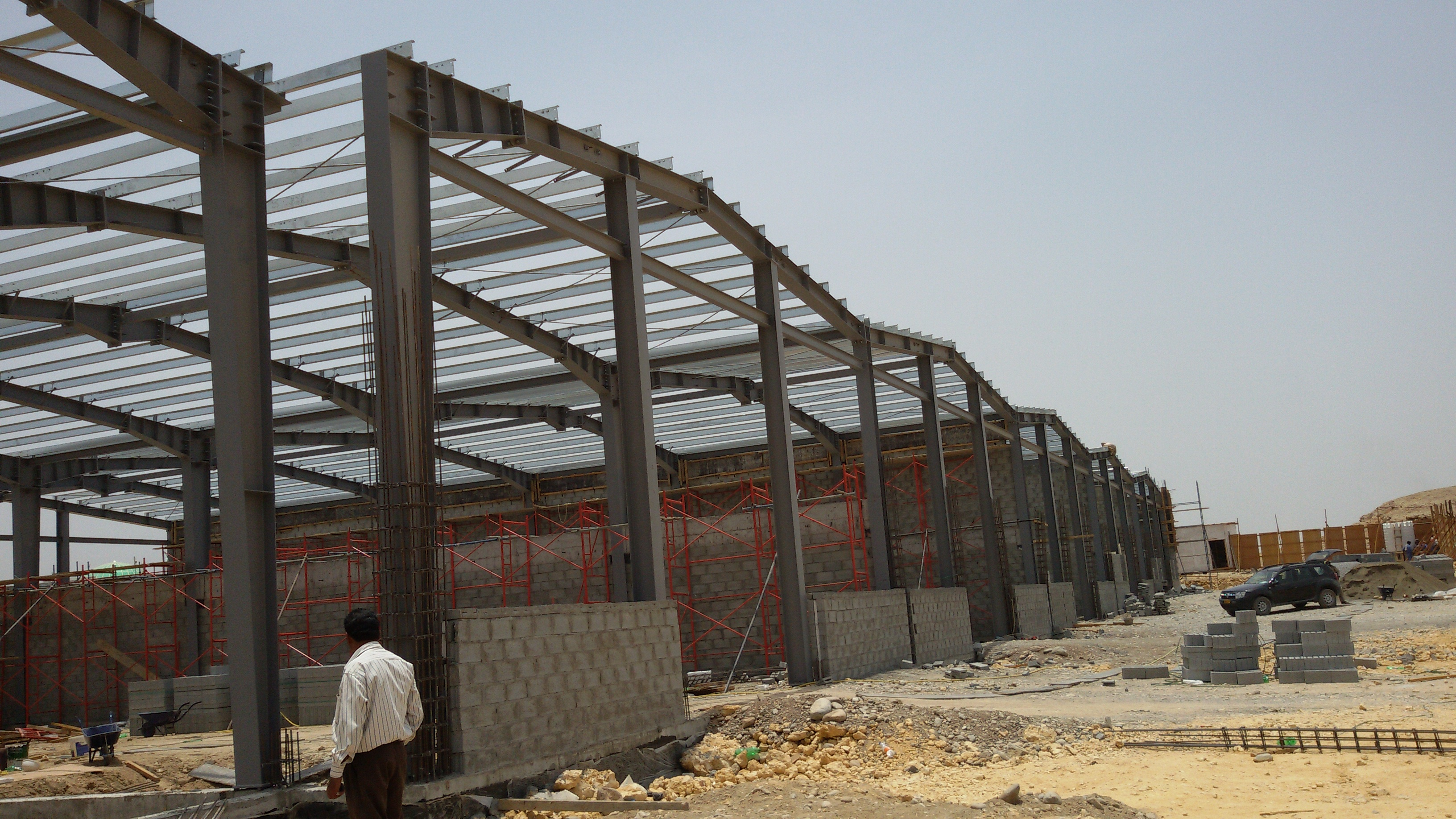 Al khaleli warehouse at Rusayl | Excellent Steel Oman