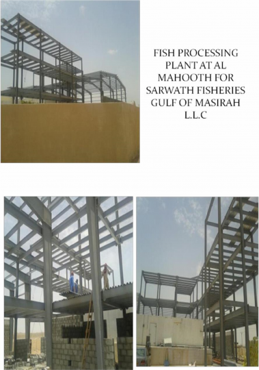Fish Processing Plant | Excellent Steel Oman