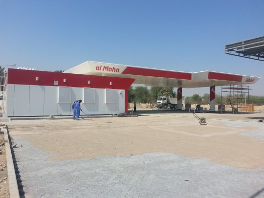 Al Maha Filling Station | Excellent Steel Oman