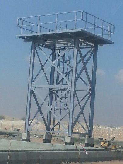 Buraimi water tank tower | Excellent Steel Oman