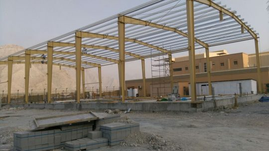 Multipurpose store khasab for MOD | Excellent Steel Oman