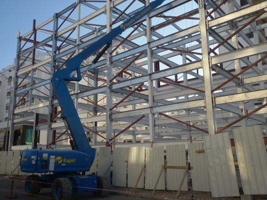 Seven storyed automatic car parking | Excellent Steel Oman